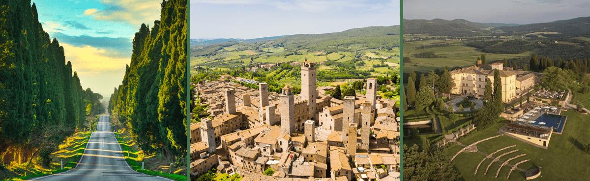 Tuscany driving tour - Bolgheri