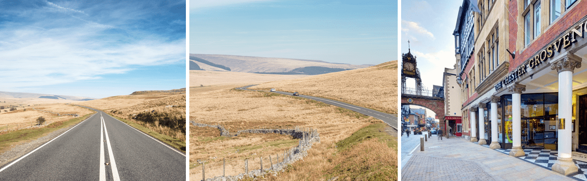 Wales supercar driving tour Brecon Beacons