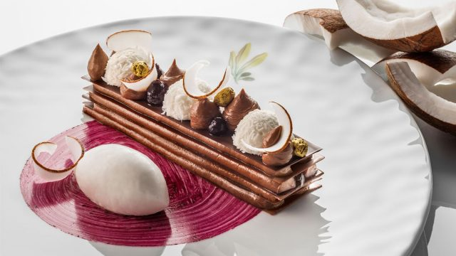 The Michelin gourmet drive in France