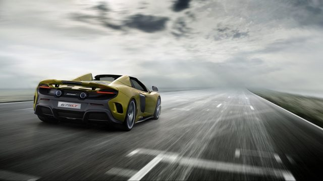 Now available: McLaren 675LT Spider